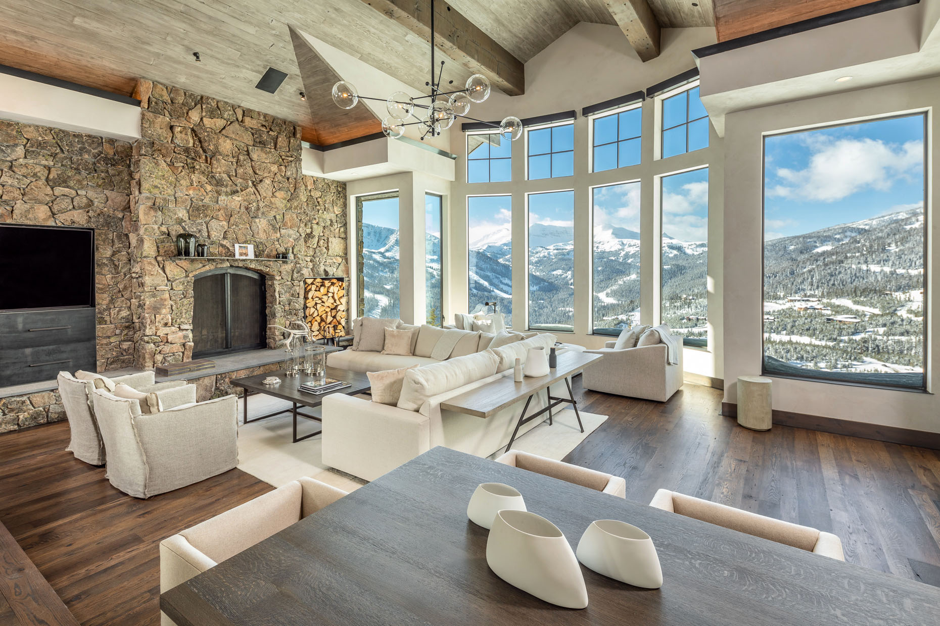 architecture Highline Partners living room interior design New Age Artisans