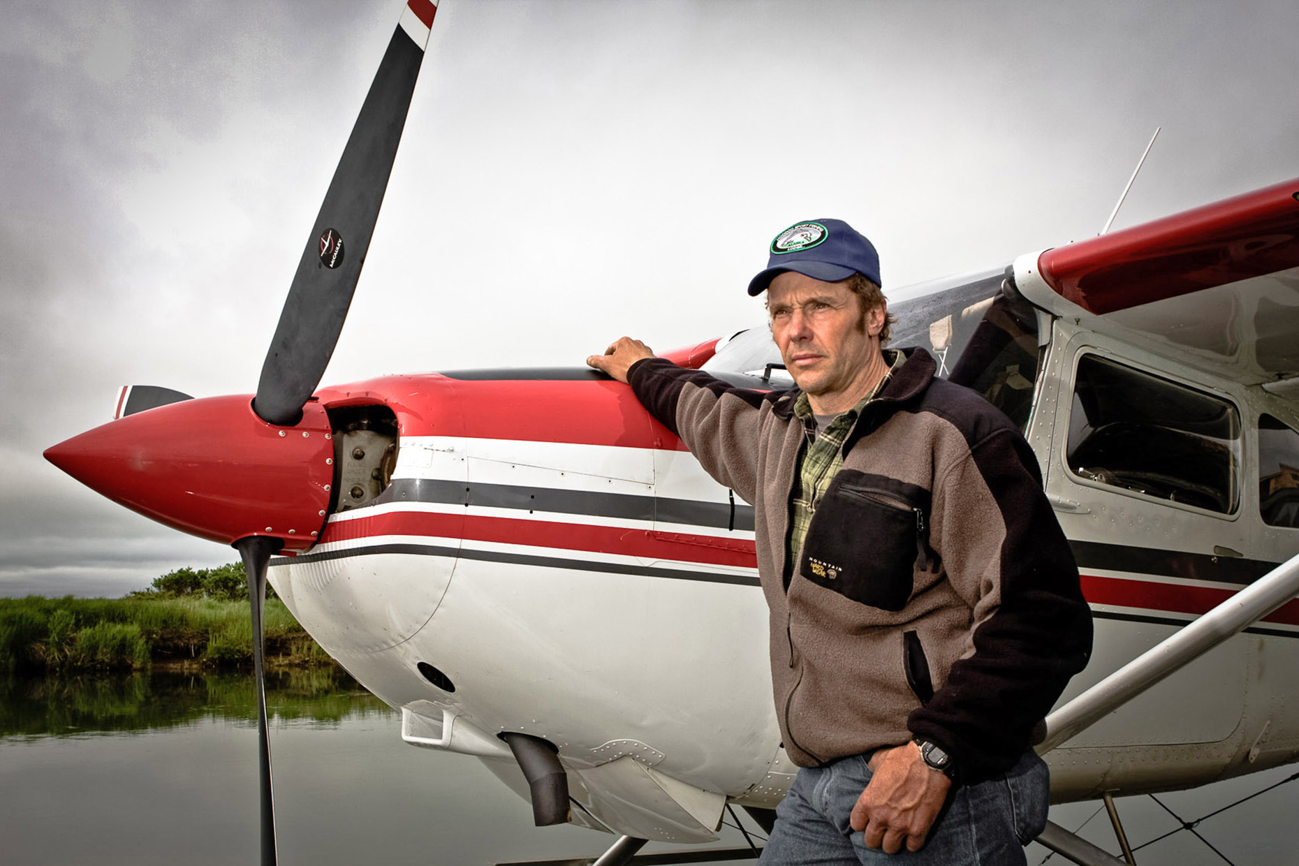 people Rod Schuh Hoodoo River Alaska bush country fly fishing float plane