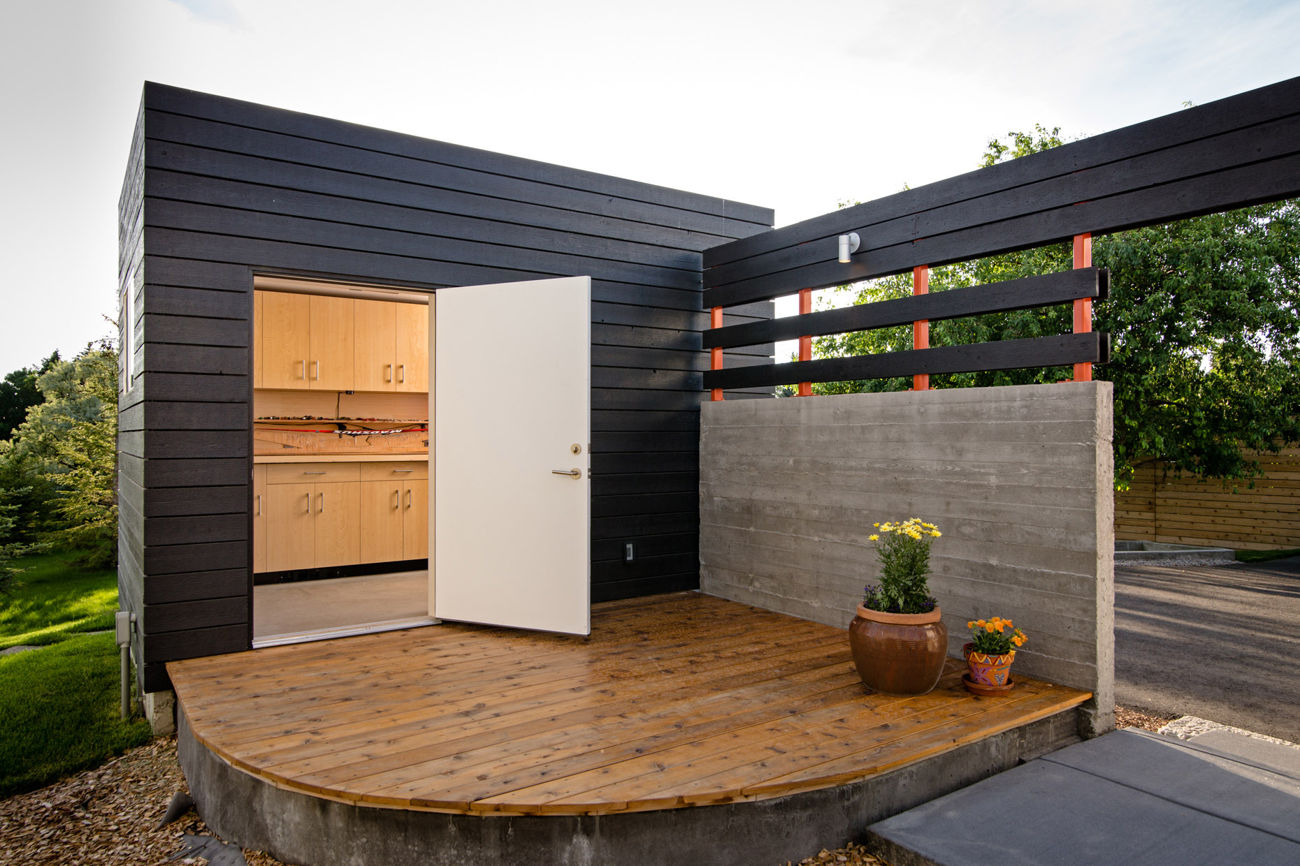 architecture Think Tank contemporary design interior shed