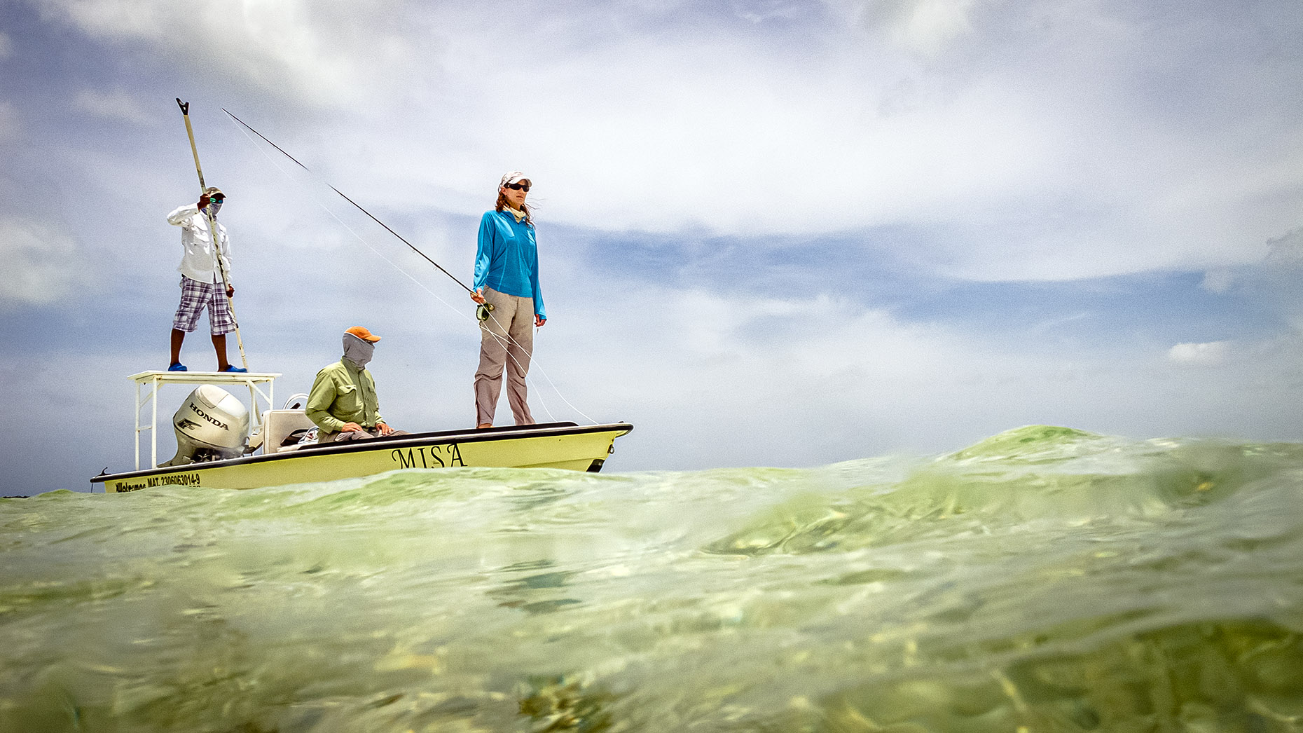 DAP sport fly fishing salt water Mexico Paradise Lodge